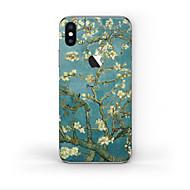 Недорогие Защитные плёнки для экрана iPhone-1 ед. Наклейки для Защита от царапин дерево Узор PVC