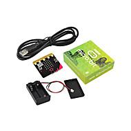 abordables Accesorios para Arduino-keyestudio micro bit básico kit básico con soporte de batería&usb programación cablegráfica brazo bluetooth
