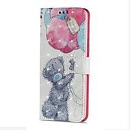 Недорогие Чехлы и кейсы для Galaxy S8 Plus-Кейс для Назначение SSamsung Galaxy S9 S9 Plus Бумажник для карт Кошелек со стендом Флип Магнитный Чехол Животное Твердый Кожа PU для S9