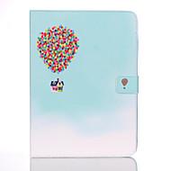 Недорогие Чехлы и кейсы для Samsung Tab-Кейс для Назначение Samsung Tab 4 10.1 Кошелек / Бумажник для карт / со стендом Чехол Воздушные шары Твердый Кожа PU для Tab 4 10.1