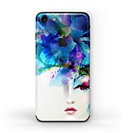 Недорогие Защитные плёнки для экрана iPhone-1 ед. Наклейки для Защита от царапин Масляный рисунок Узор PVC