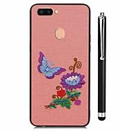 お買い得  携帯電話ケース-ケース 用途 Vivo X20 Plus X20 パターン バックカバー 風景 フラワー ソフト TPU のために vivo X20 Plus vivo X20