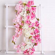 Kunstbloemen 1 Tak Bruiloft / Europees Sakura Bloemen voor op de muur