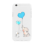 Case For Apple iPhone X iPhone 8 Plus Pattern Back Cover Heart Cartoon Animal Soft TPU for iPhone X iPhone 8 Plus iPhone 8 iPhone 7 Plus