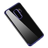 Недорогие Чехлы и кейсы для Galaxy S9 Plus-Кейс для Назначение SSamsung Galaxy S9 S9 Plus Покрытие Ультратонкий Кейс на заднюю панель Сплошной цвет Мягкий ТПУ для S9 Plus S9 S8