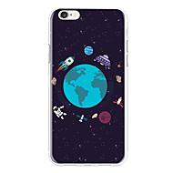 케이스 제품 Apple iPhone X / iPhone 8 Plus 패턴 뒷면 커버 카툰 소프트 TPU 용 iPhone X / iPhone 8 Plus / iPhone 8