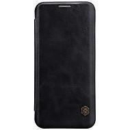 Недорогие Чехлы и кейсы для Galaxy S9 Plus-Кейс для Назначение SSamsung Galaxy S9 S8 Бумажник для карт Флип Чехол Сплошной цвет Твердый Кожа PU для S9 Plus S9 S8 Plus S8