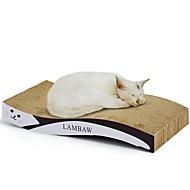 お買い得  ペット用品-ネコ 猫用おもちゃ ペット用おもちゃ スクラッチアート 紙、ペーパークラフト アートプリント 多色 スクラッチマット 体重を減らす キャットニップ 段ボール紙 ペット用