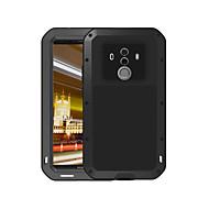 お買い得  -ケース 用途 Huawei Mate 10 pro 水/汚れ/ショックプルーフ フルボディーケース 純色 ハード メタル のために Mate 10 pro