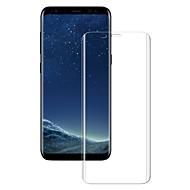 お買い得  -スクリーンプロテクター Samsung Galaxy のために S8 強化ガラス 1枚 スクリーンプロテクター 3Dラウンドカットエッジ 傷防止 防爆 硬度9H ハイディフィニション(HD)