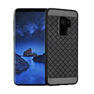 Недорогие Чехлы и кейсы для Galaxy S9 Plus-Кейс для Назначение SSamsung Galaxy S9 S9 Plus Защита от удара Кейс на заднюю панель Сплошной цвет Мягкий ТПУ для S9 Plus S9 S8 Plus S8