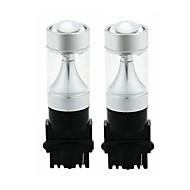 Недорогие Внешние огни для авто-SENCART 2pcs 3156 Автомобиль / Мотоцикл Лампы 30W Интегрированный LED 1200lm 6 Светодиодные лампы Внешние осветительные приборы For