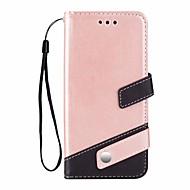 Недорогие Чехлы и кейсы для Galaxy S-Кейс для Назначение SSamsung Galaxy S9 Plus Бумажник для карт со стендом Чехол Сплошной цвет Твердый Кожа PU для S9 Plus