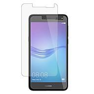 olcso Képernyő védők-Képernyővédő fólia Huawei mert Huawei Y6 (2017)(Nova Young) Edzett üveg 1 db Kijelzővédő fólia 2.5D gömbölyített szélek 9H erősség High
