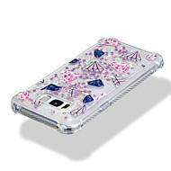 Недорогие Чехлы и кейсы для Galaxy S7-Кейс для Назначение SSamsung Galaxy S8 Plus S8 Защита от удара Движущаяся жидкость С узором Кейс на заднюю панель Геометрический рисунок