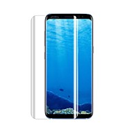 cheap Screen Protectors for Samsung-Screen Protector Samsung Galaxy for S8 Tempered Glass 1 pc Front Screen Protector 3D Curved edge 9H Hardness High Definition (HD)