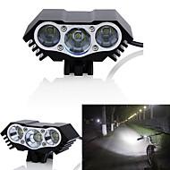お買い得  フラッシュライト/ランタン/ライト-自転車用ヘッドライト LED 自転車用ライト LED サイクリング 防水, 複数のモード 18650 3000 lm DC電源 サイクリング / IPX-5