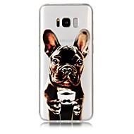 Недорогие Чехлы и кейсы для Galaxy S8 Plus-Кейс для Назначение SSamsung Galaxy S9 S9 Plus С узором Кейс на заднюю панель С собакой Мягкий ТПУ для S9 Plus S9 S8 Plus S8 S7 edge S7