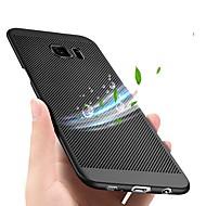 Недорогие Чехлы и кейсы для Galaxy S6 Edge Plus-Кейс для Назначение SSamsung Galaxy S9 Plus / S9 Ультратонкий Кейс на заднюю панель Однотонный Твердый пластик для S9 / S9 Plus / S8 Plus