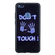 お買い得  携帯電話ケース-ケース 用途 Huawei P10 Lite / P8 Lite(2017) パターン バックカバー パンク ソフト TPU のために P10 Lite / P10 / Huawei P9 Lite