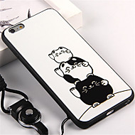 Case For Apple iPhone 7 Plus / iPhone 6s Pattern Back Cover Cat Soft TPU for iPhone 7 Plus / iPhone 7 / iPhone 6s Plus