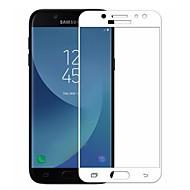 Недорогие Защитные пленки для Samsung-Защитная плёнка для экрана Samsung Galaxy для J7 (2017) Закаленное стекло 1 ед. Защитная пленка для экрана 3D закругленные углы 2.5D