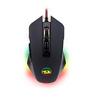 お買い得  マウス-REDRAGON M715 ケーブル 人間工学に基づいたマウス ゲーミング 快適 調整可能DPI バックライト 3Dカトゥーン 10000