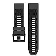 Недорогие Аксессуары для смарт-часов-Ремешок для часов для Fenix 5 Garmin Спортивный ремешок силиконовый Повязка на запястье