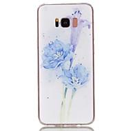 Недорогие Чехлы и кейсы для Galaxy S6 Edge Plus-Кейс для Назначение SSamsung Galaxy S8 Plus / S8 С узором Кейс на заднюю панель Цветы Мягкий ТПУ для S8 Plus / S8 / S7 edge