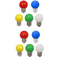 お買い得  LED ボール型電球-10個 1W 100lm E26 / E27 LEDボール型電球 G45 8 LEDビーズ SMD 2835 装飾用 ホワイト グリーン イエロー ブルー レッド 220-240V