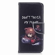 Недорогие Чехлы и кейсы для Galaxy A3(2017)-Кейс для Назначение SSamsung Galaxy A8 2018 A8 Plus 2018 Бумажник для карт Кошелек со стендом С узором Чехол Слова / выражения Твердый
