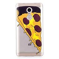 お買い得  携帯電話ケース-ケース 用途 Xiaomi Redmi Note 4X IMD / パターン バックカバー 食べ物 ソフト TPU のために Xiaomi Redmi Note 4X