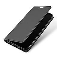 Недорогие Чехлы и кейсы для Galaxy S-Кейс для Назначение SSamsung Galaxy S9 S9 Plus со стендом Флип Магнитный Чехол Сплошной цвет Твердый Кожа PU для S9 Plus S9 S8 Plus S8 S7