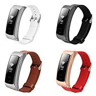 Недорогие Аксессуары для смарт-часов-Ремешок для часов для Huawei Watch Huawei Классическая застежка Стали / Кожа Повязка на запястье