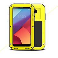 billige -Etui Til LG G6 Støtsikker Vanntett Heldekkende etui Helfarge Hard Metall til LG G6