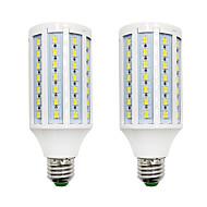 お買い得  -BRELONG® 2pcs 18W 1200lm E14 E26 / E27 B22 LEDコーン型電球 84 LEDビーズ SMD 5730 温白色 ホワイト 220-240V