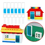 お買い得  模型 & ビルディング玩具-ブロックおもちゃ 30 pcs 学校用 シンプル おもちゃ 飛行機 フリーサイズ 成人 ギフト