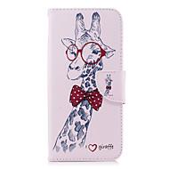 Недорогие Чехлы и кейсы для Galaxy S9-Кейс для Назначение SSamsung Galaxy S9 S9 Plus Бумажник для карт Кошелек со стендом Флип С узором Чехол Животное Твердый Кожа PU для S9