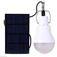 preiswerte Taschenlampen, Laternen & Lichter-S-1200 LED Lampe Glühbirnen LED 110 lm inklusive Batterie Solarenergie Weiß Camping / Wandern / Erkundungen