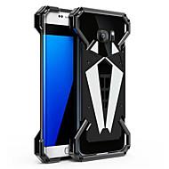 Недорогие Чехлы и кейсы для Galaxy S7 Edge-Кейс для Назначение SSamsung Galaxy S9 S9 Plus Защита от удара Кейс на заднюю панель броня Твердый Металл для S9 Plus S9 S8 Plus S8 S7