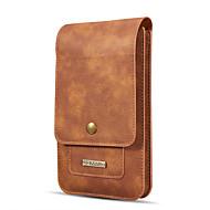Недорогие Чехлы и кейсы для Galaxy Note-Кейс для Назначение SSamsung Galaxy Note 8 Note 5 Бумажник для карт Кошелек Мешочек Сплошной цвет Твердый Настоящая кожа для Note 8 Note