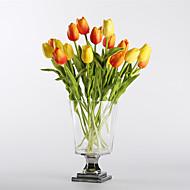 abordables Flores Artificiales-Flores Artificiales 10 Rama Modern / Estilo europeo Tulipán Flor de Mesa
