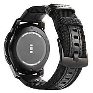 Недорогие Часы для Samsung-Ремешок для часов для Gear S3 Frontier Gear S3 Classic Samsung Galaxy Классическая застежка Кожа Нейлон Повязка на запястье