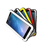 お買い得  携帯電話ケース-ケース 用途 Xiaomi Mi Max 2 水/汚れ/ショックプルーフ フルボディーケース 純色 ハード メタル のために Xiaomi Mi Max 2