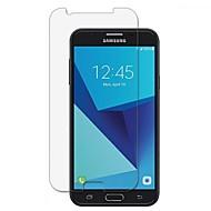 Недорогие Защитные пленки для Samsung-Защитная плёнка для экрана Samsung Galaxy для J7 (2017) Закаленное стекло 1 ед. Защитная пленка для экрана 2.5D закругленные углы Уровень