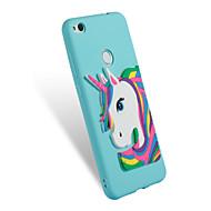 お買い得  携帯電話ケース-ケース 用途 Huawei P8 Lite(2017) P10 Lite パターン DIY バックカバー ユニコーン ソフト TPU のために P10 Lite P8 Lite (2017) Honor 7X Honor 6A Mate 10 pro Mate 10
