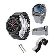 Недорогие Часы для Samsung-Ремешок для часов для Gear S3 Frontier Gear S3 Classic Samsung Galaxy Спортивный ремешок Керамика Повязка на запястье