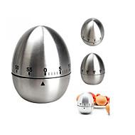 お買い得  キッチン用小物-キッチンツール ステンレス鋼 クリエイティブキッチンガジェット 卵のための キッチンタイマー 1個