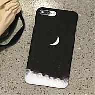 Недорогие Кейсы для iPhone 8 Plus-Кейс для Назначение Apple iPhone 7 Plus iPhone 7 Матовое С узором Кейс на заднюю панель Пейзаж Твердый ПК для iPhone 8 Pluss iPhone 8