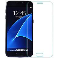 お買い得  Samsung 用スクリーンプロテクター-スクリーンプロテクター Samsung Galaxy のために S7 強化ガラス 2 PCS フルボディプロテクター 防爆 2.5Dラウンドカットエッジ 硬度9H